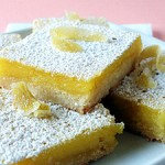 Lemon bars citroentaart