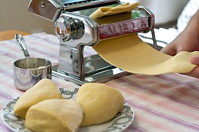 Pasta maken pastamachine