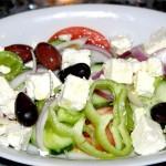 Griekse Horiatiki salade