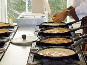 het bakken