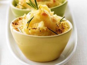 aardappelpuree gegratineerd