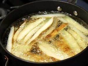aardappels frituren