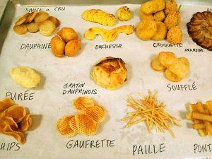 aardappelvarianten