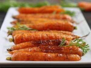 wortel uit de oven