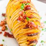 Aardappels met spek