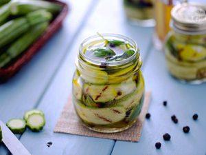 zucchini zoetzuur